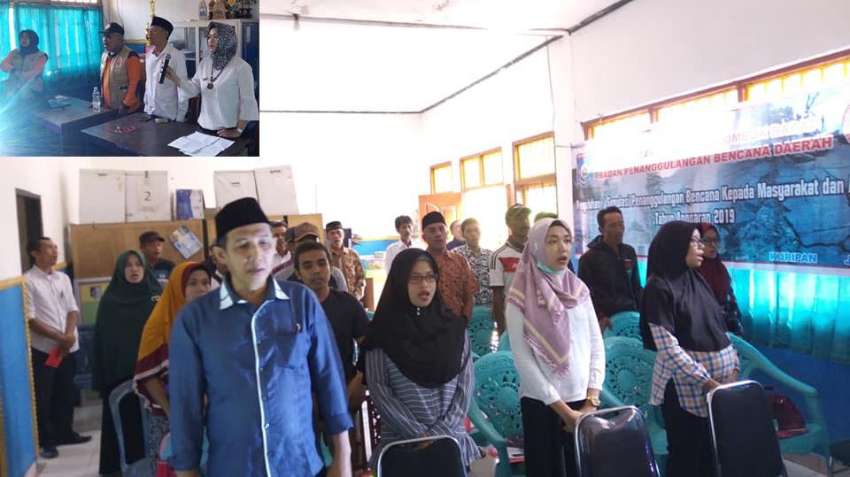 BPBD Lombok Barat Gelar Sosialisasi Petunjuk Teknis Penanggulangan Kebencanaan