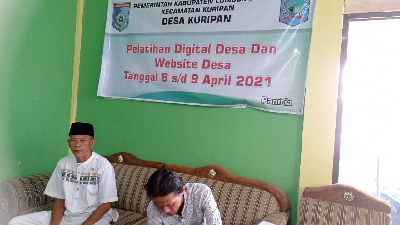 Pelatihan Desa Digital, Kades Hasbi; Penting diera Digital Untuk Percepat Pelayanan