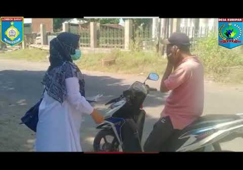 Pemerintah Desa Kuripan Dukung TNI dan Polri Dalam Upaya Pencegahan Covid 19
